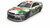 2017 Kasey Kahne Mountain Dew 1:24 HO Diecast Car
