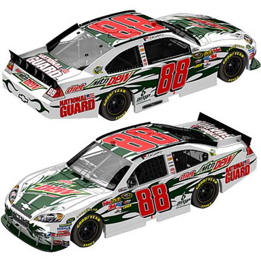"2010 Dale Earnhardt Jr #88 ""Paint the 88"" Diet Dew/NG 1/24 Diecast Car"