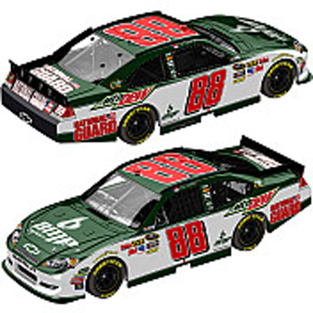 2011 Dale Earnhardt Jr #88 Mountain Dew   1/24  Diecast Car