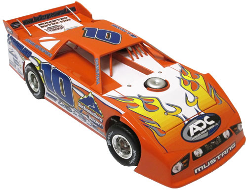 2013 ALEX FERREE # 10 LERNERVILLE 2013 TRACK CHAMPION 1/24 LATE MODEL DIECAST CAR