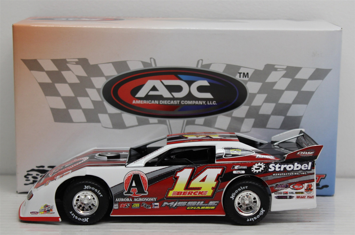 2013 Kyle Berck #14  1/24 Dirt Late Model Diecast Car
