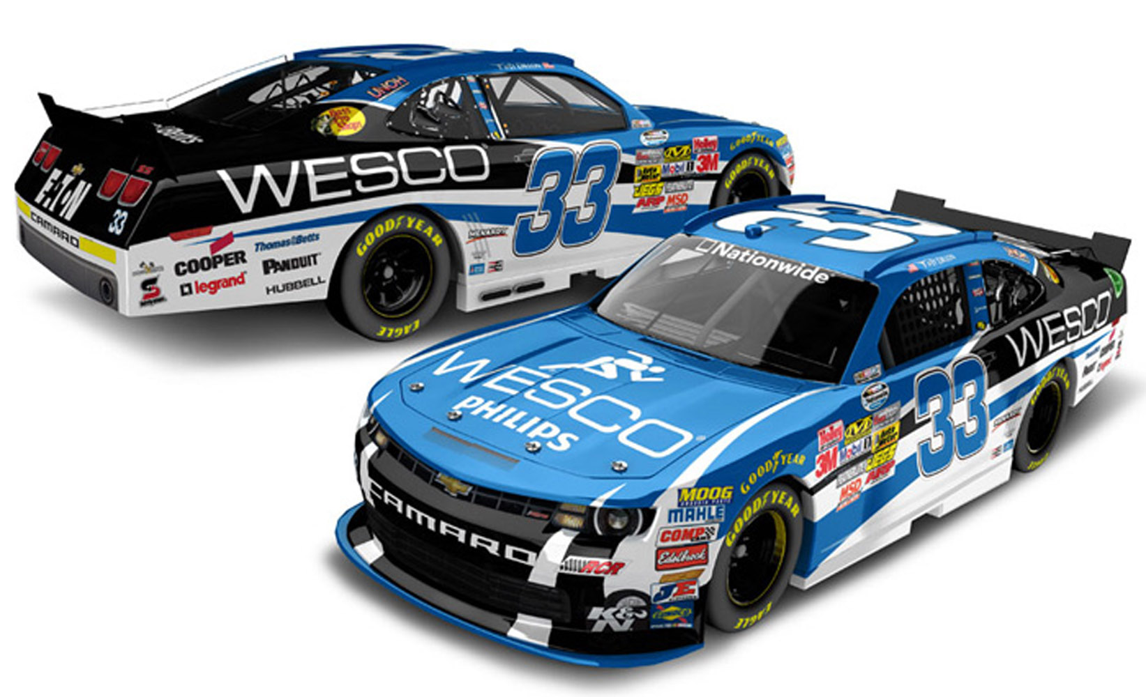 2013 Ty Dillon #33 WESCO 1/24 Diecast Car.