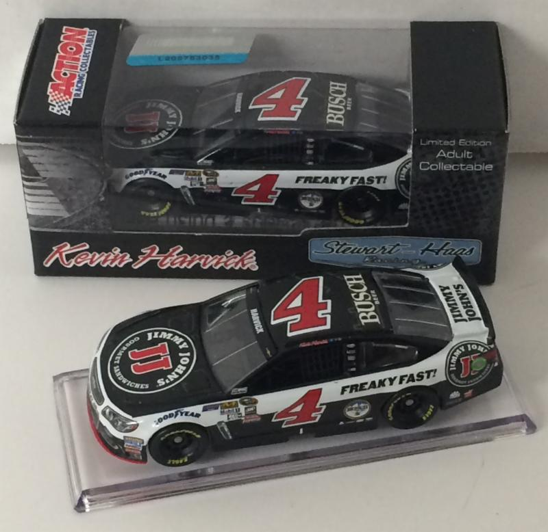 2016 Kevin Harvick #4 Jimmy Johns 1:64 Diecast Car