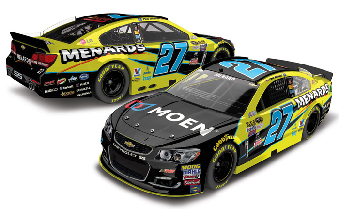 2016 Paul Menard #27 Menards 1:64 Diecast Car