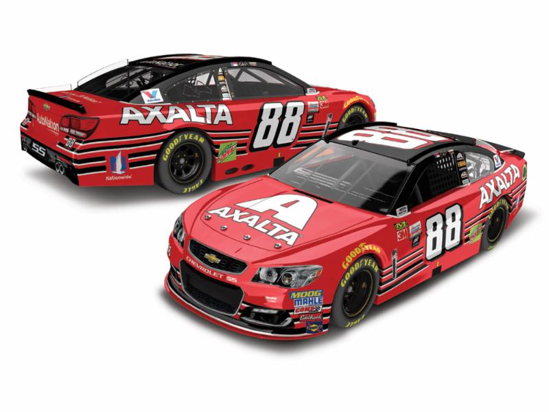 2017 Dale Earnhardt Jr #88 Axalta Homestead Last Ride 1:24 Liquid Color Diecast Car