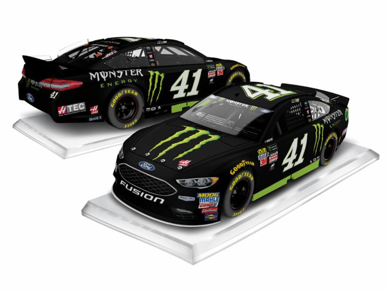 2017 Kurt Busch #41 Monster Energy 1:24 HOTO Diecast Car