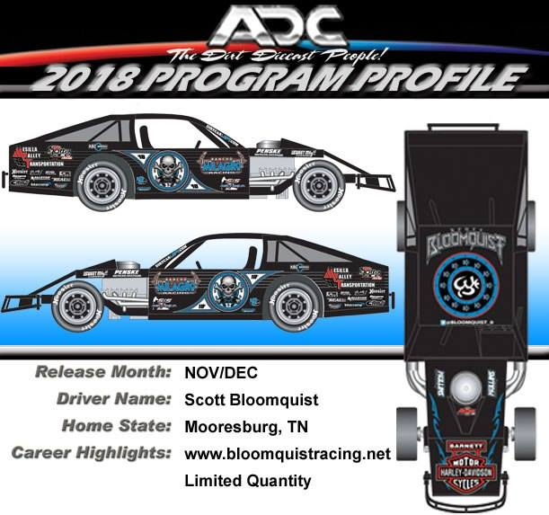 2018 Scott Bloomquist #0 Modified 1/64 Diecast Car.