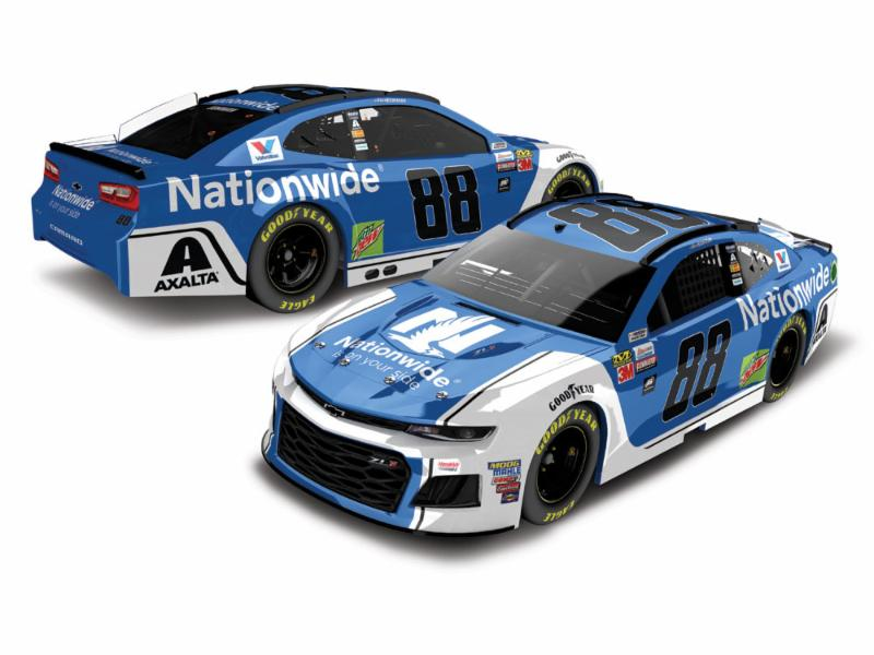2018 Alex Bowman #88 Nationwide Ins. 1:24 HO 1:24 Diecast Car