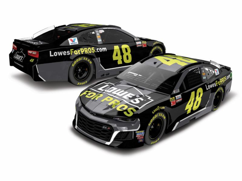 2018 Jimmie Johnson #48 Lowes 1:64 Diecast Car.