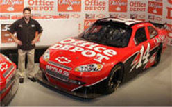 2009 Tony Stewart  #14 Office Depot 1/24  Car
