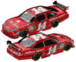 2010 Tony Stewart  #14 Old Spice 1/24  Car