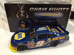 2014 Chase Elliott #9 Napa Nationwide Champ NW 1/24 Diecast Car.