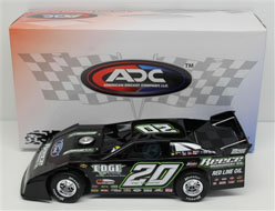 2014 JIMMY OWENS #20 1/24 Dirt Late Model Diecast Car.