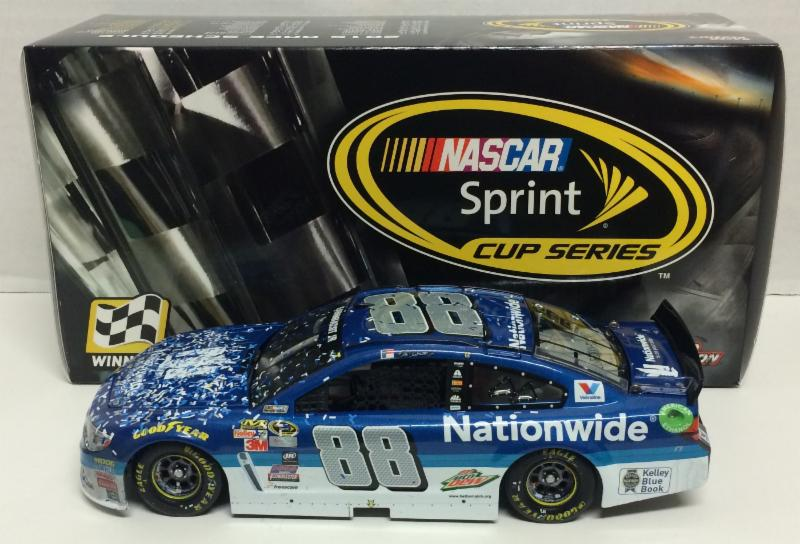 2015 Dale Earnhardt Jr #88 Nationwide Talladega Spring Win 1/24 Diecast Car