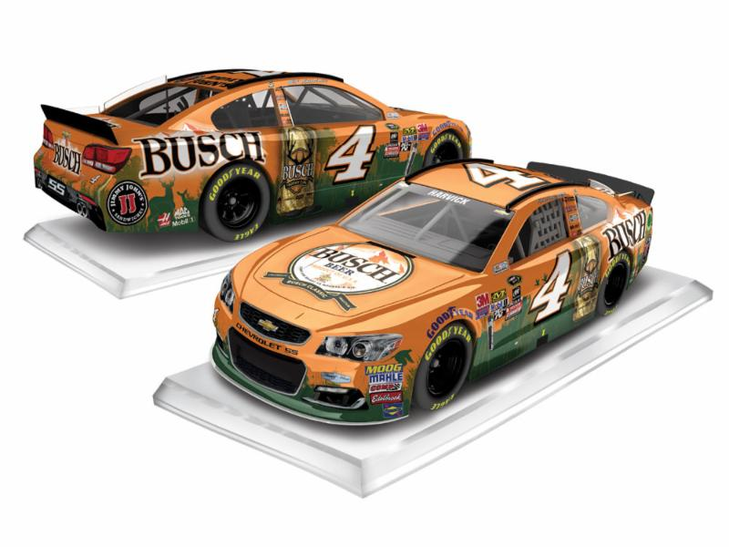 2016 Kevin Harvick #4  Busch Beer Hunting 1:64 Diecast Car
