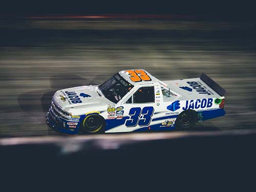 2016 Ben Kennedy #33 Jacob Industries Bristol Raced Win 1:24 HO Truck Diecast Car