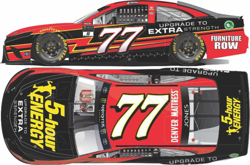 2017 Erik Jones #77 5 Hour Energy 1:24 Diecast Car