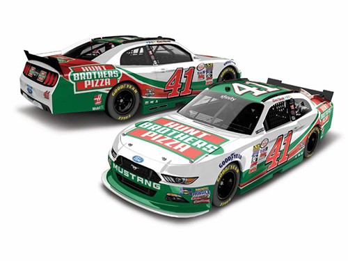 2017 Kevin Harvick #41 Hunt Brothers Pizza 1:24 Diecast Car