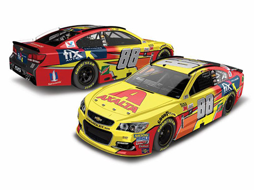 2017 Dale Earnhardt Jr #88 Axalta FIX AUTO 1:24 Diecast Car