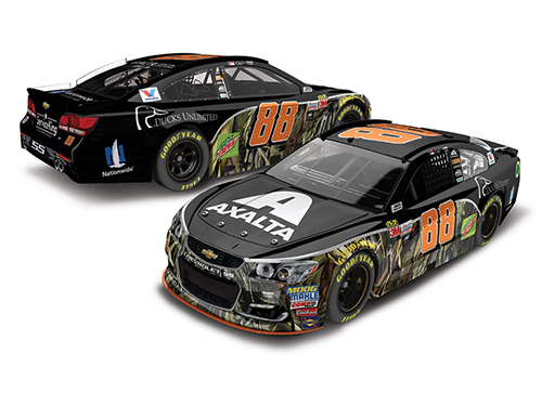 2017 Dale Earnhardt Jr #88 Axalta/Ducks Unlimited Camo 1:24 Diecast Car