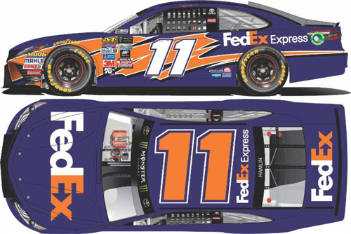 2017 Denny Hamlin #11 FedEx Express 1:24 Diecast Car