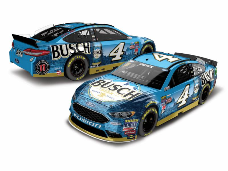 2017 Kevin Harvick #4 Busch Beer 1:24 Diecast Car