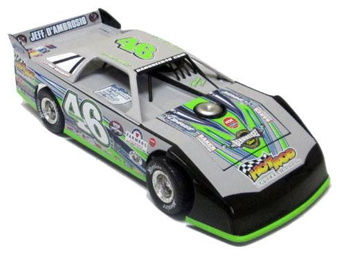 ADC Dirt Diecast Red Series Late Model 1/24