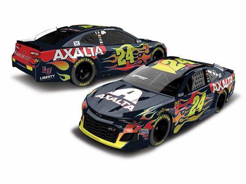 2018 William Byron #24 Axalta 1:24 RCCA Elite Diecast Car