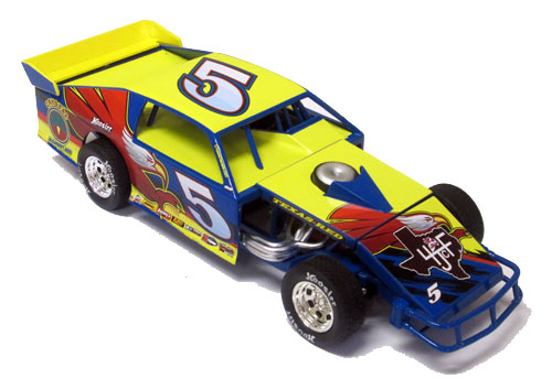 JUSTIN BEIBER , Mt Driver  1/24  Dirt Modified Diecast Car