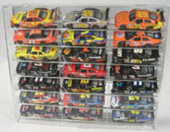 Diecast 21 Car 1/24 Angled Display Case